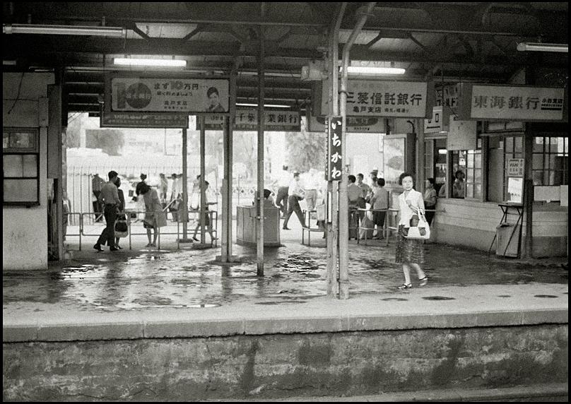 1967年 市川駅(千葉県): THE EYE FORGET